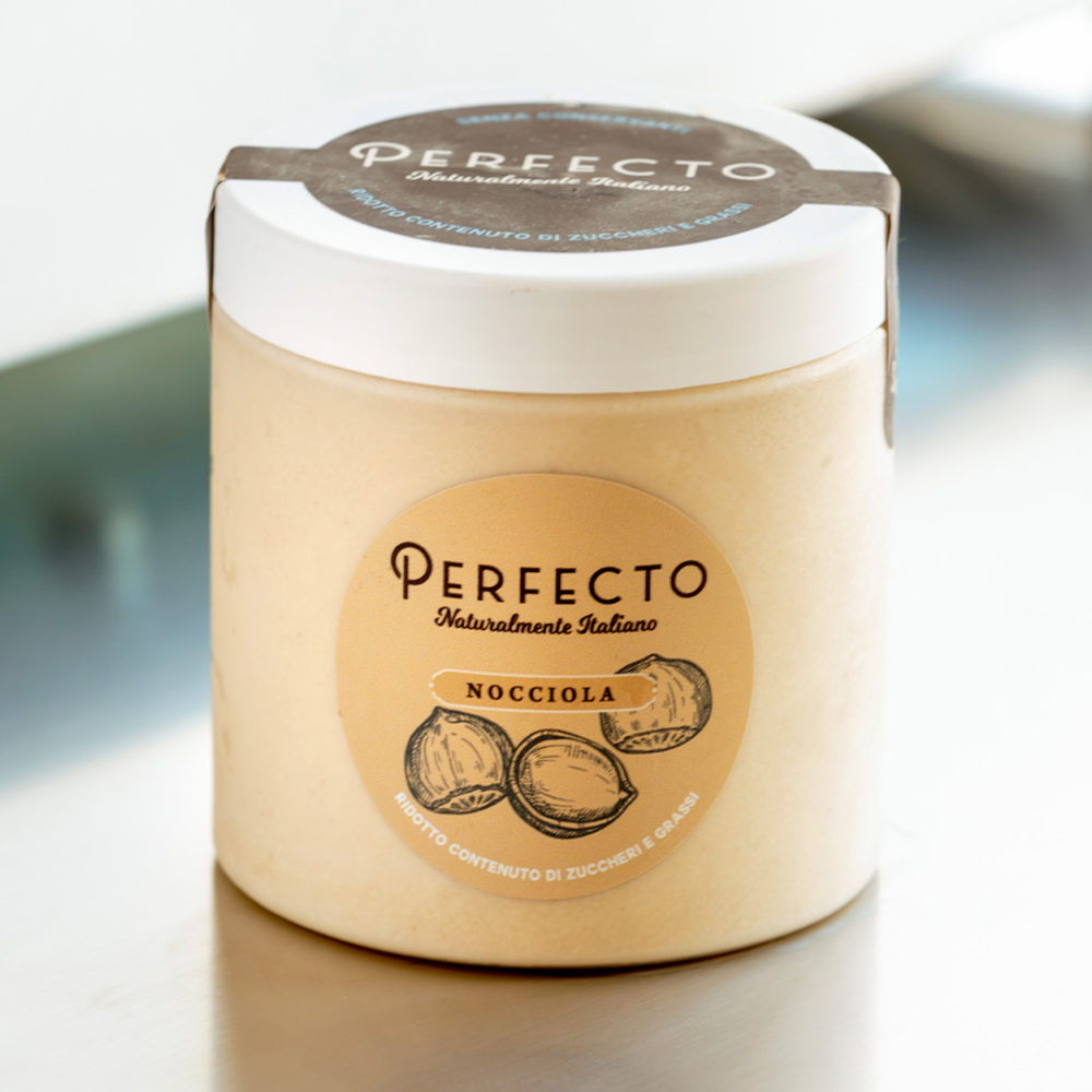 nocciola perfecto gelato gelsana artigianale italiano natura
